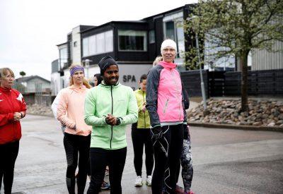 Löpning Gruppträning Träningshelg